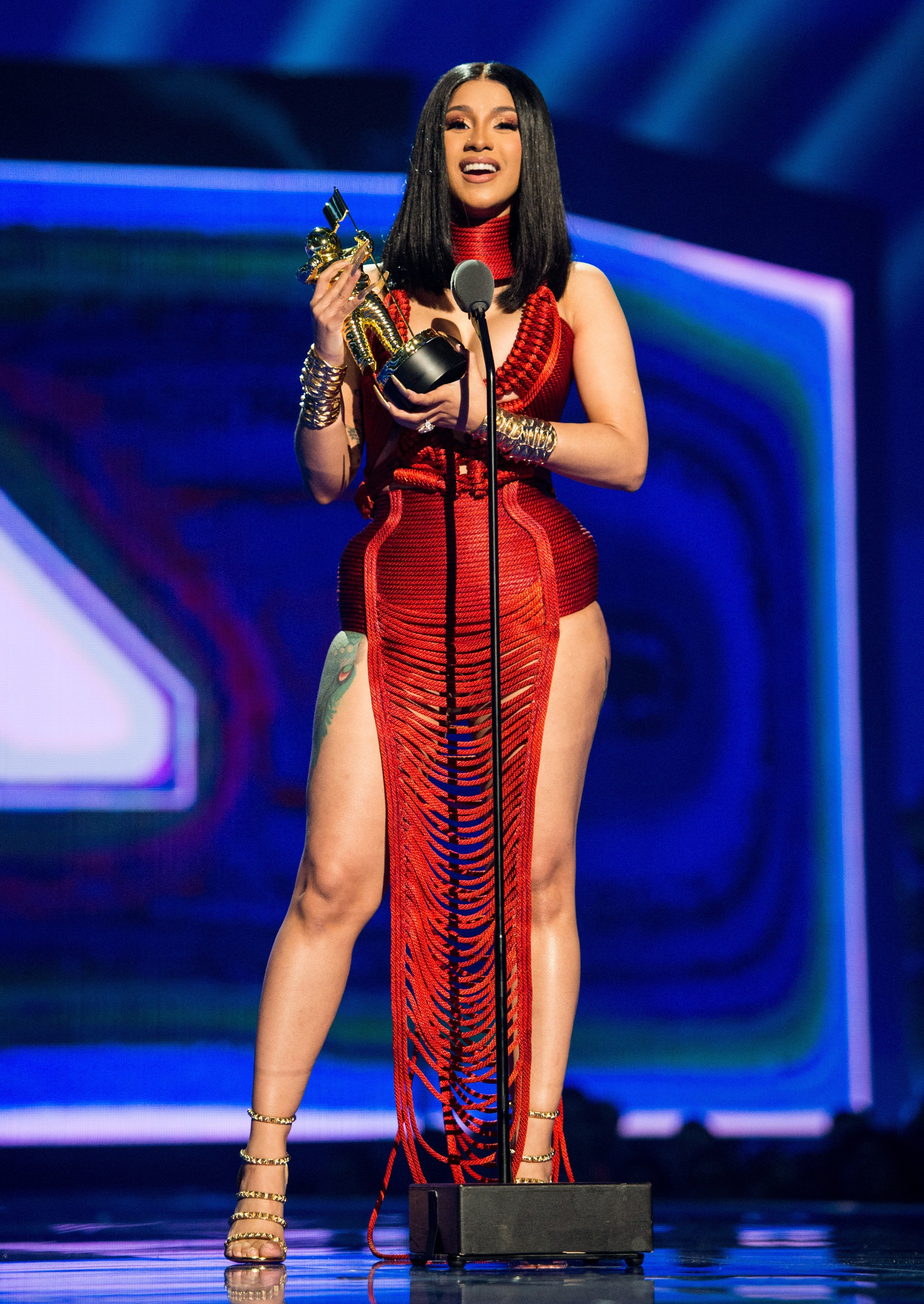 Cardi B at the MTV Video Music Awards in Newark, New Jersey on August 26, 2019 | Photo: Getty Images