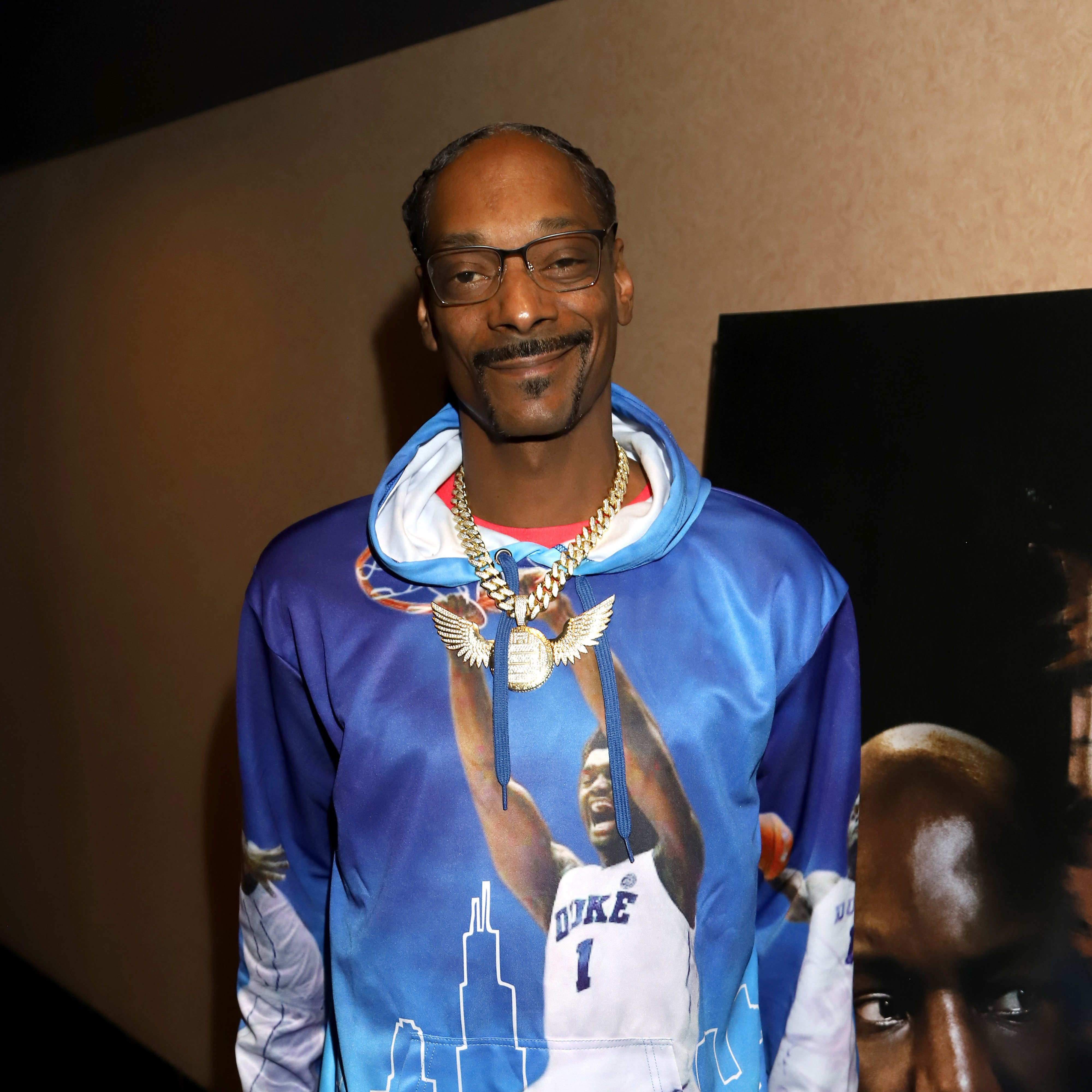 """Snoop Dogg attends the Los Angeles Influencer Special Screening of Sony Pictures' """"BLACK AND BLUE,"""" hosted by Terrence J and Director Deon Taylor at ArcLight Hollywood on October 17, 2019. 