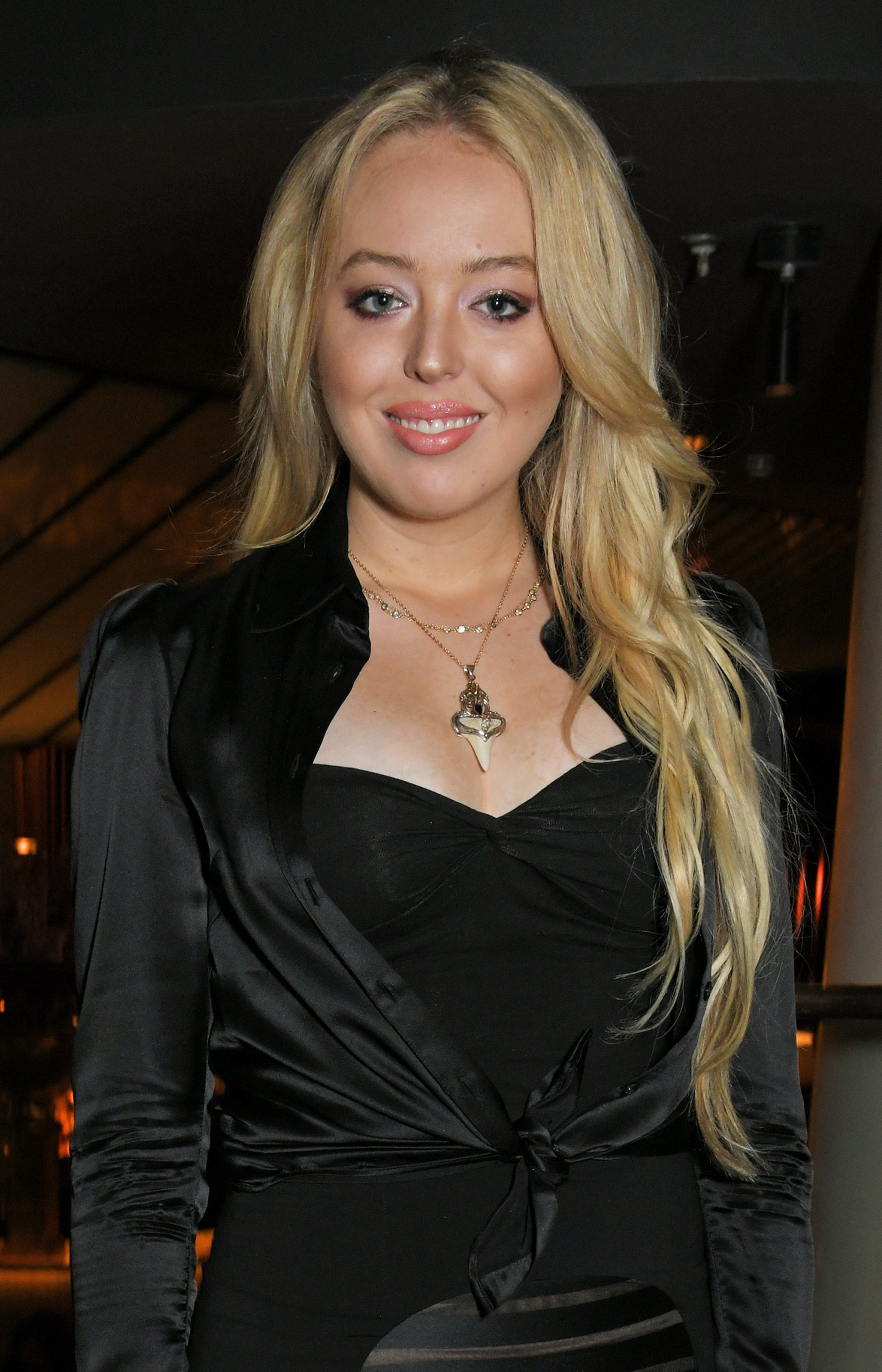 Tiffany Trump poses at dinner at Quaglino's on July 23, 2018, in London, England.   Source: Getty Images.