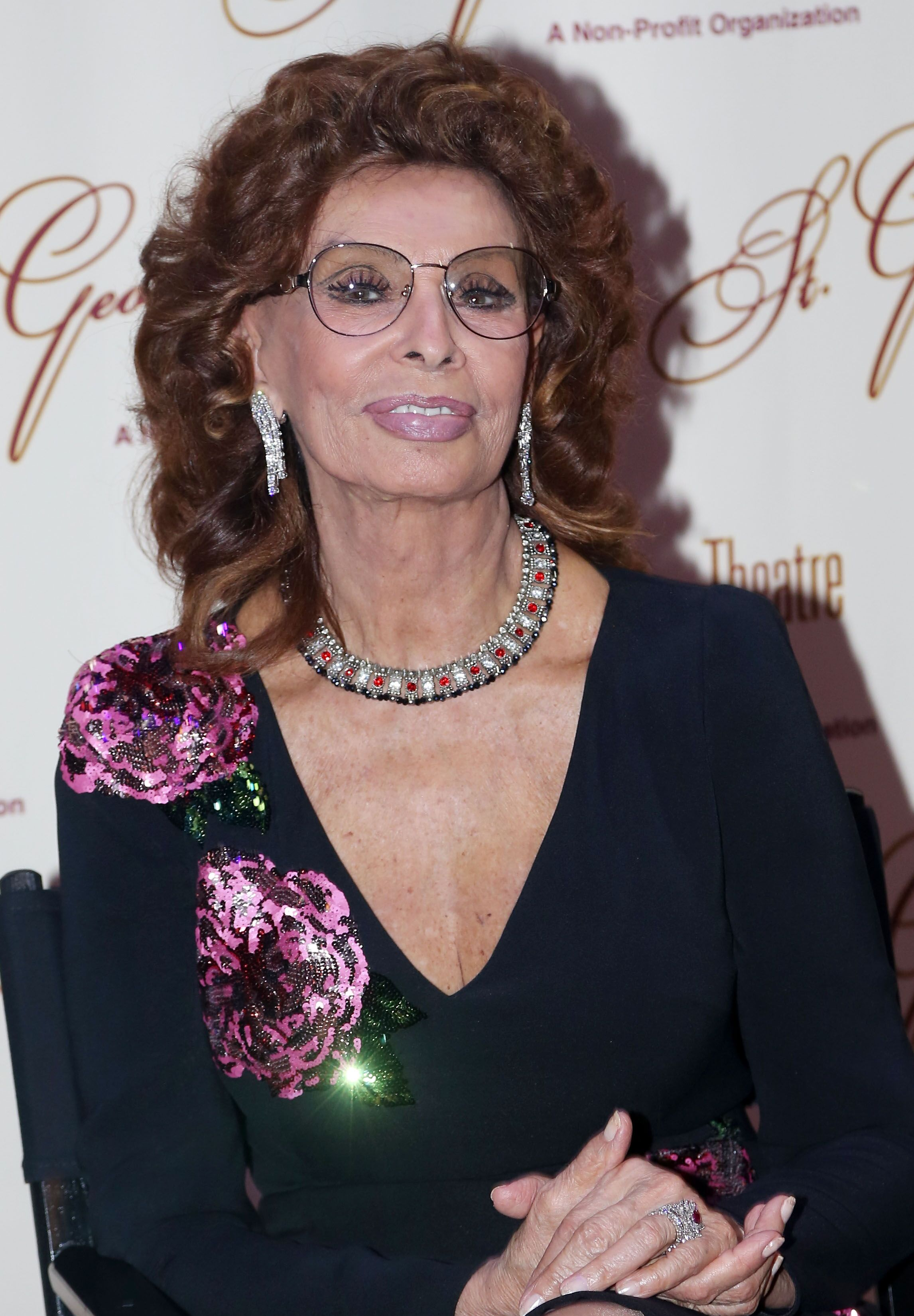 "Sophia Loren at ""An Evening With Sophia Loren."" 