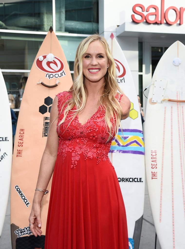 """Bethany Hamilton at the Los Angeles Premiere of the Entertainment Studios documentary """"Bethany Hamilton: Unstoppable"""" at the ArcLight Hollywood on July 09, 2019   Photo: Getty Images"""
