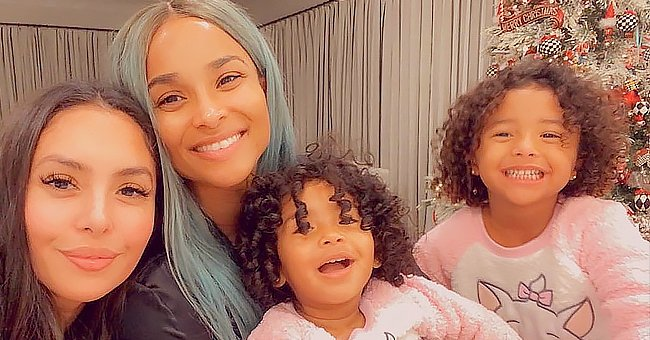 Vanessa Bryant's Daughters Posed with Ciara & Their Mom in Cute Matching Pajamas — Here's Why