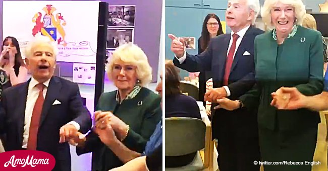 Duchess Camilla Caught Dancing to Jewish Folk Song and Sharing Laughs with Adorable Seniors