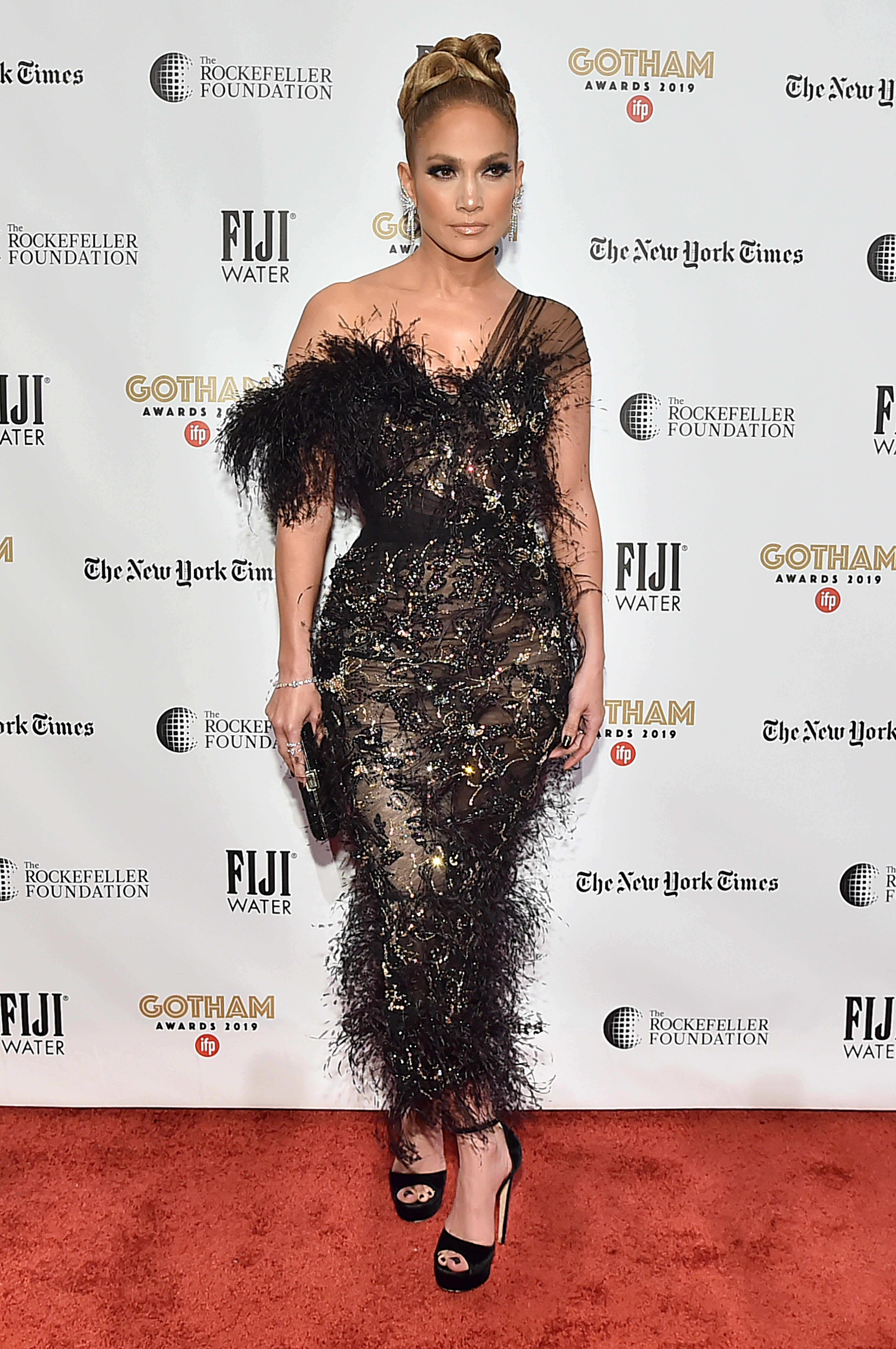 Jennifer Lopez attends the IFP's 29th Annual Gotham Independent Film Awards at Cipriani Wall Street, in New York City on December 02, 2019. | Photo: Getty Images.