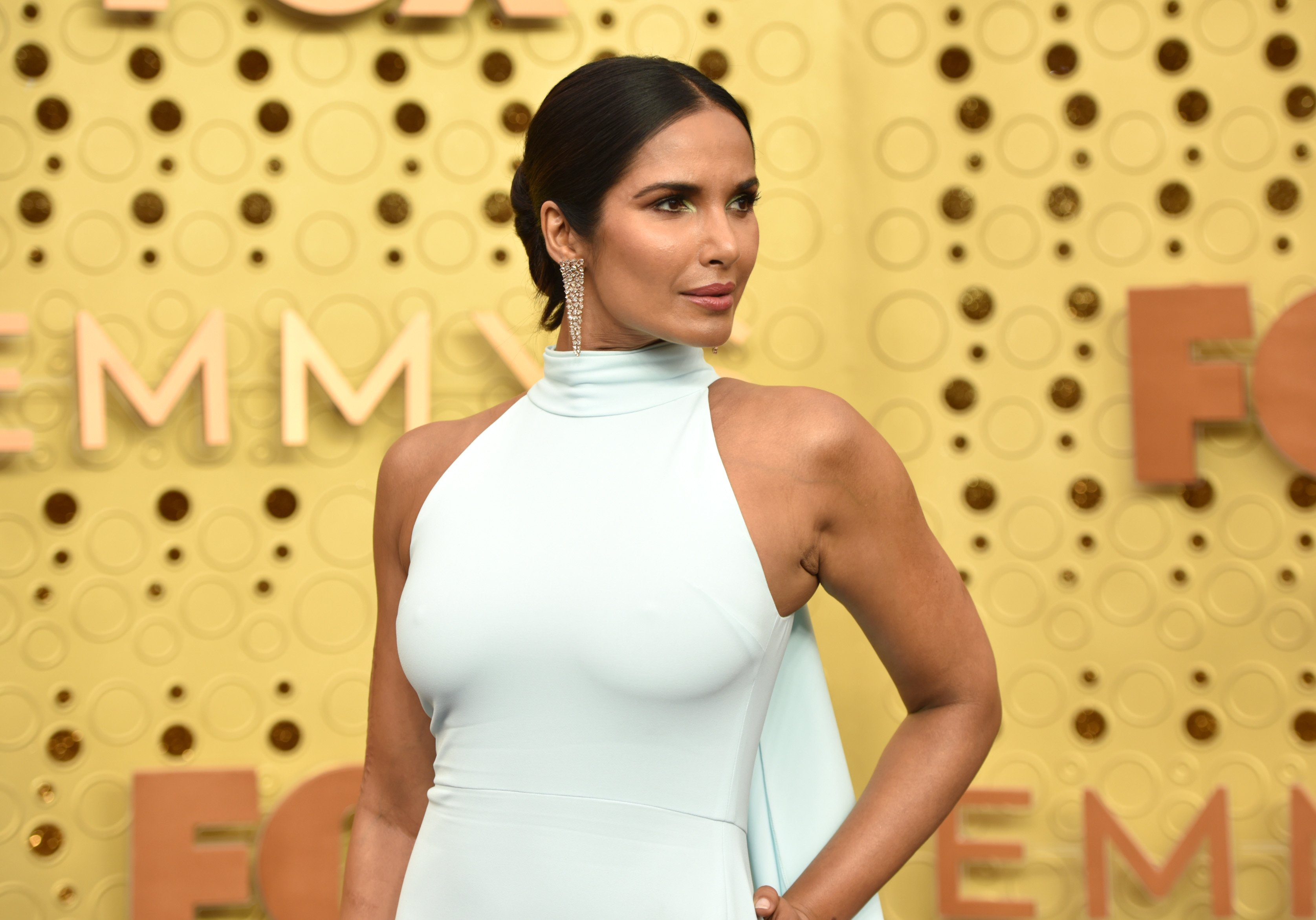 Padma Lakshmi attends the Emmy Awards in Los Angeles, California on September 22, 2019 | Photo: Getty Images