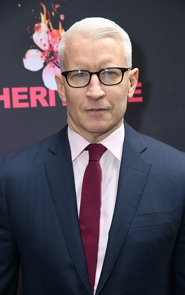 Anderson Cooper at the Barrymore Theatre on November 17, 2019 in New York City. | Photo: Getty Images