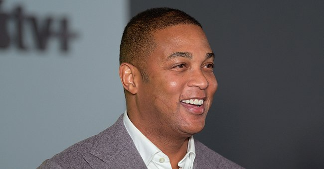 Don Lemon & Fiancé Tim Pose Wrapped in Striped Blankets after Plunging into Cold Sea (Video)
