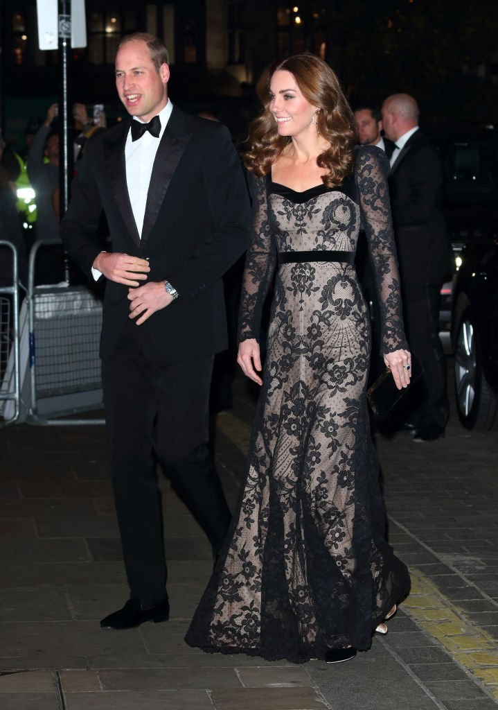 Duke and Duchess of Cambridge attend the Royal Variety Performance at the London Palladium. | Photo: Getty Images