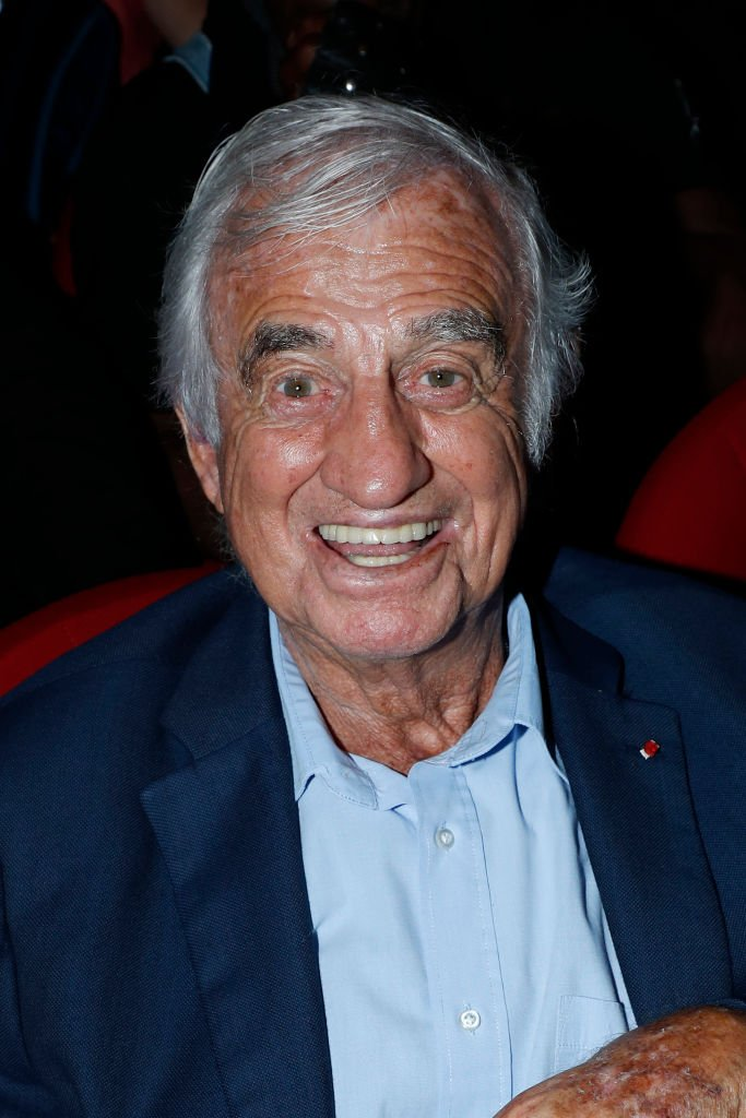 "Jean-Paul Belmondo attends ""L'Entree des Artistes"" : Theater School by Olivier Belmondo at Theatre Des Mathurins on June 17, 2019. 