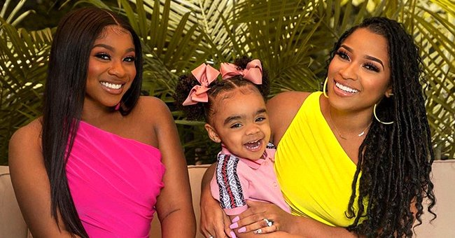 Toya Johnson's Daughters Reginae Carter and Reign Beaux Show Sisterly Love in Adorable Photos