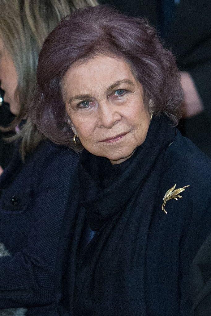 Doña Sofía│Imagen tomada de: Getty Images