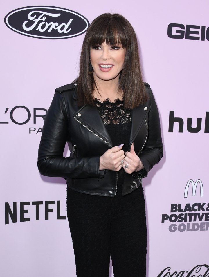 Marie Osmond attending the 13th Annual Essence Black Women In Hollywood Awards Luncheon in Beverly Hills, California in February 2020.   Image: Getty Images.