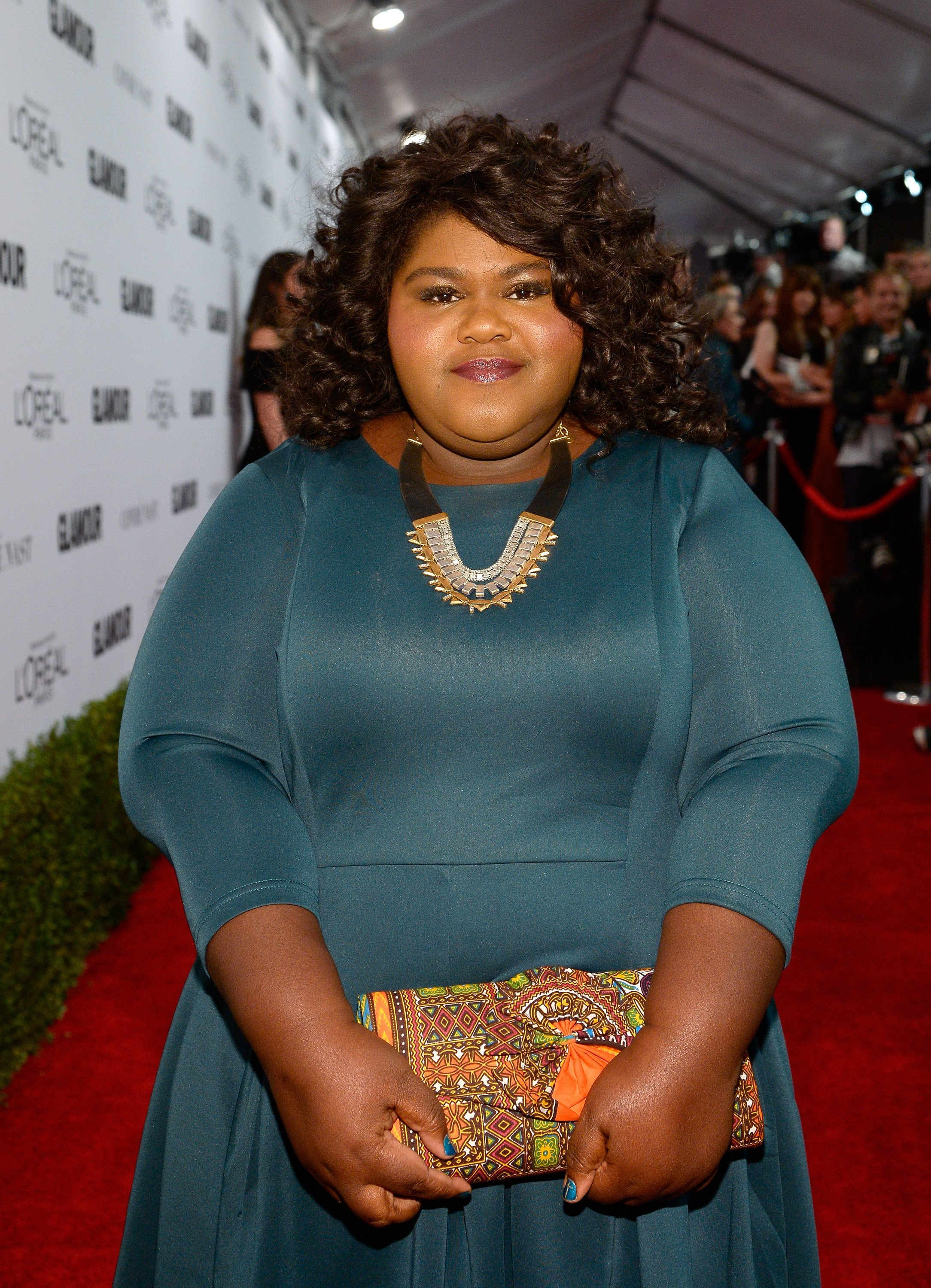 Gabourey Sidibe attends Glamour Women Of The Year on Nov. 14, 2016 in California | Photo: Getty Images
