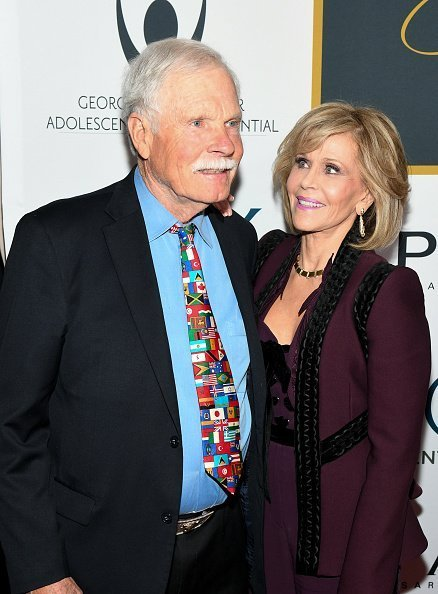 Ted Turner and Jane Fonda attend GCAPP 'Eight Decades of Jane' in celebration of Jane Fonda's 80th birthday on December 9, 2017 | Photo: Getty Images