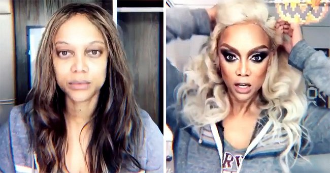 Watch Tyra Banks' Glamorous Transformation as She Prepares Her Look for DWTS' 'Villains Night'