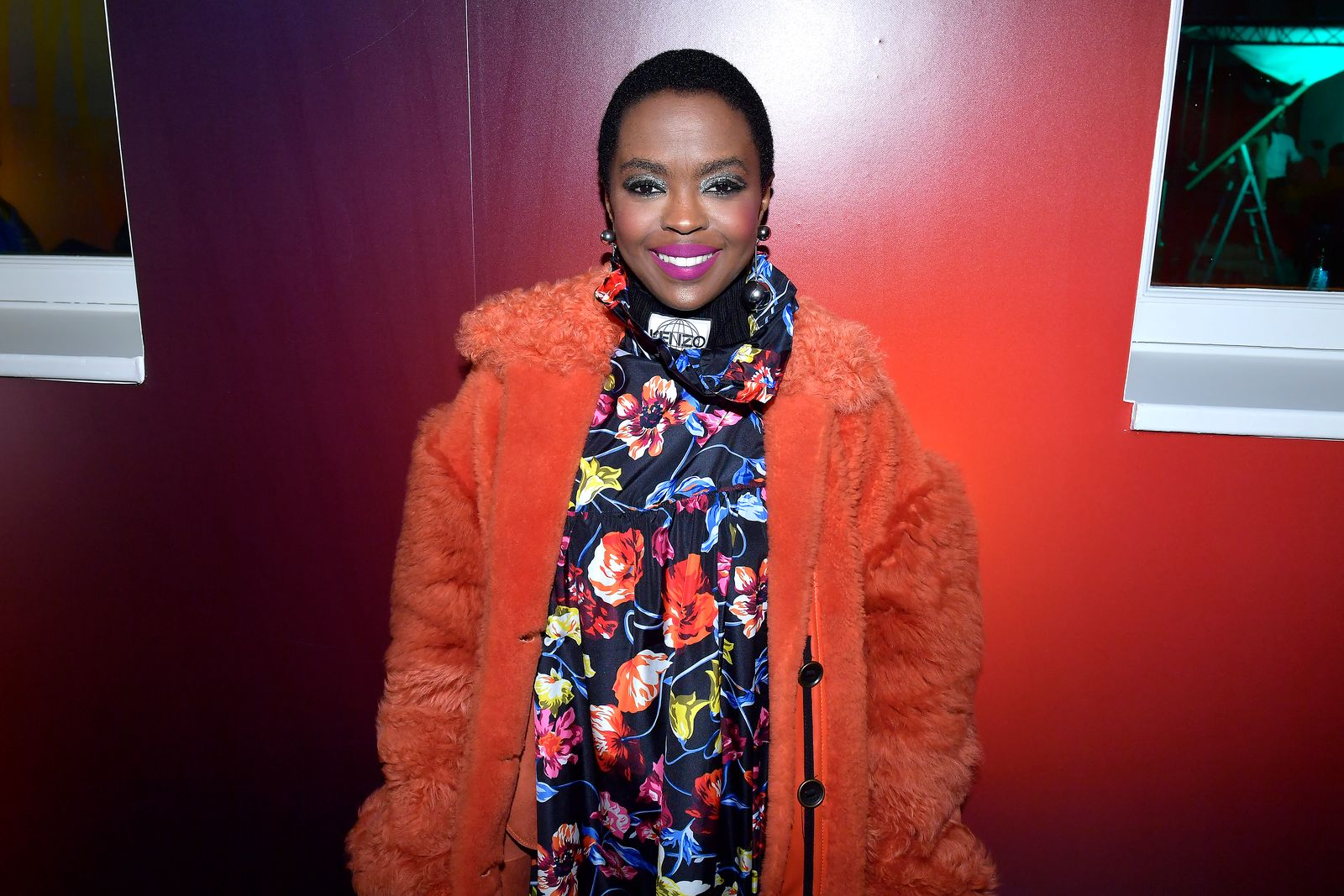 Lauryn Hill at the Kenzo La Collection Momento N°1 event at Kenzo Headquarters on March 1, 2017 | Photo: Getty Images