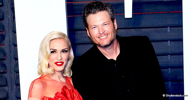 Blake Shelton shares sweet and delicious Valentine's gift from Gwen, and he can't stop smiling