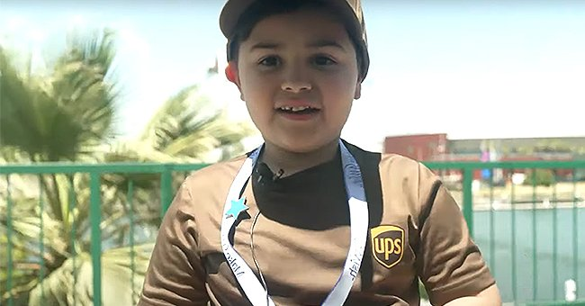 6-Year-Old Boy with Leukemia Realized His Dream of Becoming the Youngest Driver of UPS