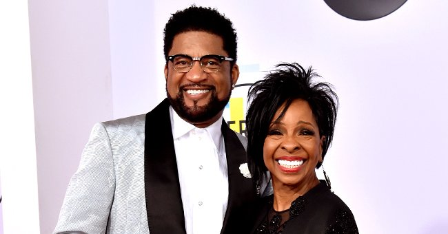 Gladys Knight Stuns in a Black Dress as Her Husband Opts for a White Tux in Sweet Throwback Pic