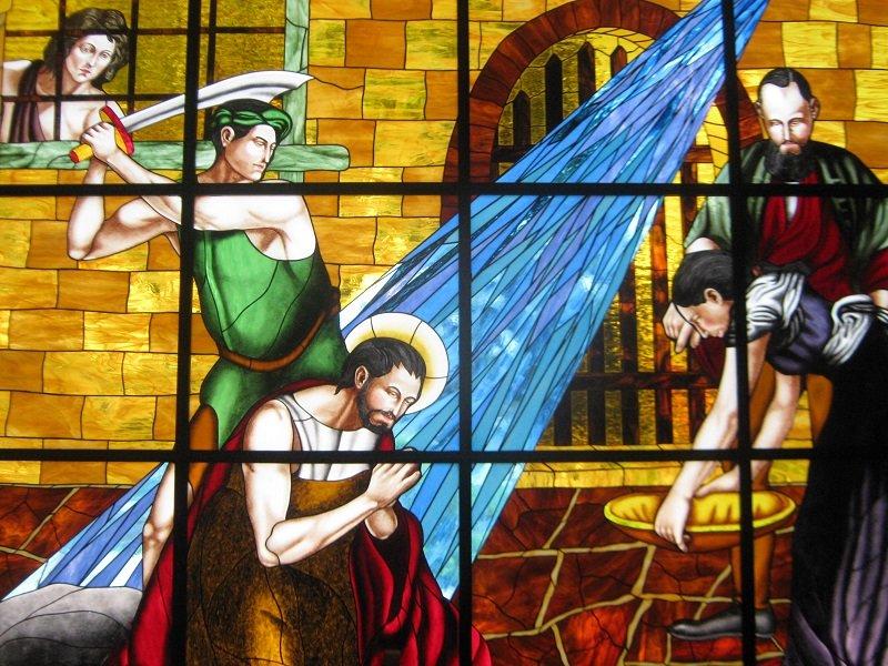 El 29 de agosto aparece en los sacramentarios romanos.  Fuente: Wikipedia