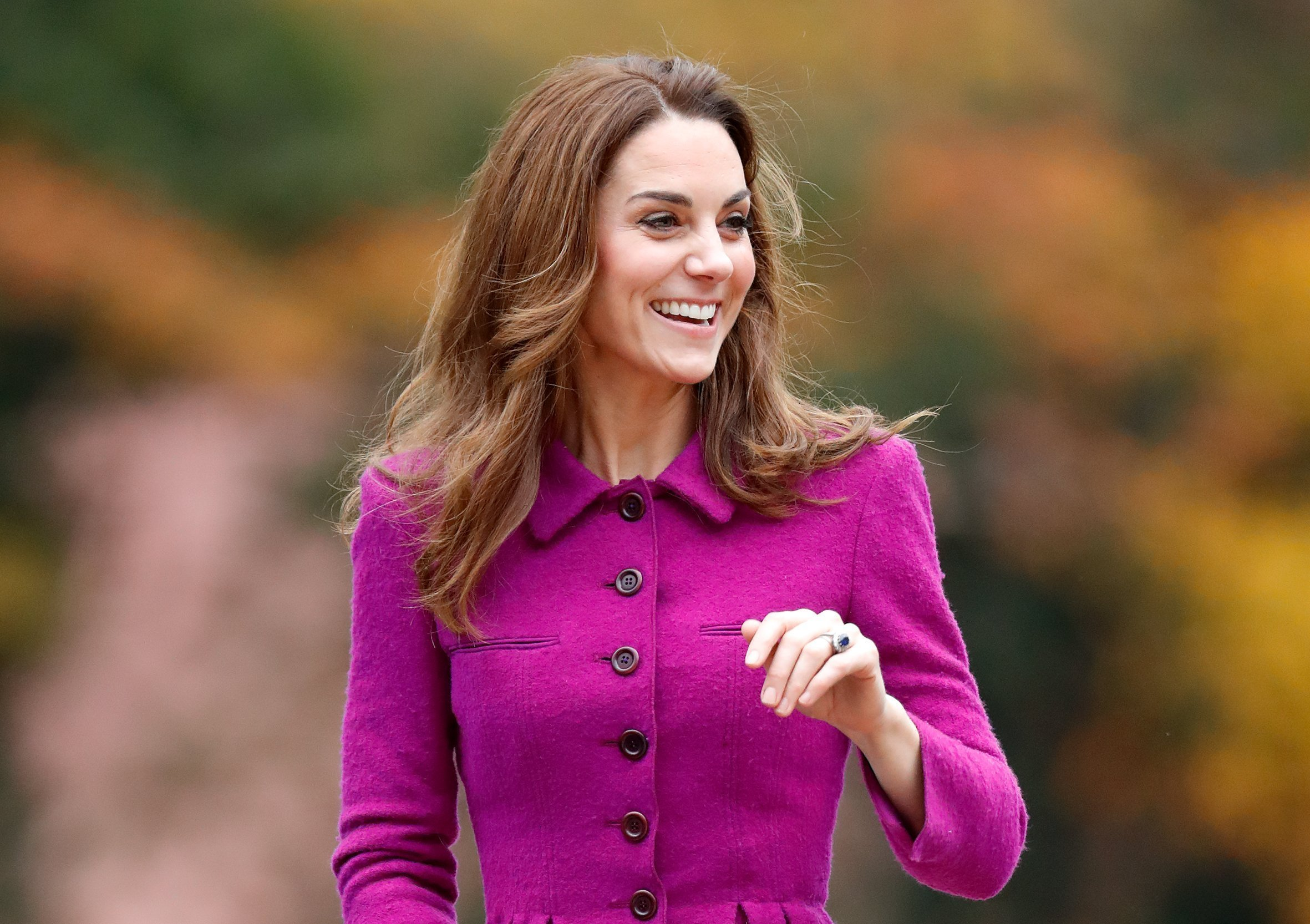 Kate Middleton attends the opening of a Children's Hospice in London, England on November 15, 2019 | Photo: Getty Images