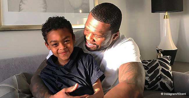 He's Already Better Than Me,' 50 Cent Shares Heartwarming Photos with 6-Year-Old Son Sire Jackson