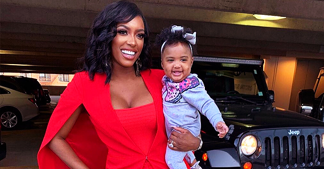 Porsha Williams' Daughter Pilar Jhena Is Fearless as They Play with Tarantula Snapchat Filter