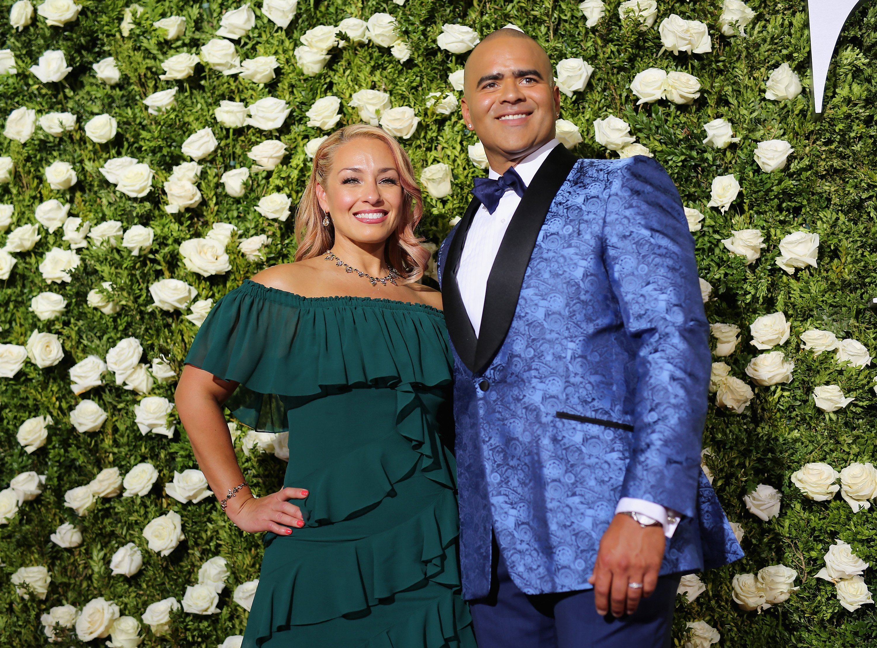 Veronica Jackson and Christopher Jackson attend the 2017 Tony Awards at Radio City Music Hall on June 11, 2017, in New York City. | Source: Getty Images.