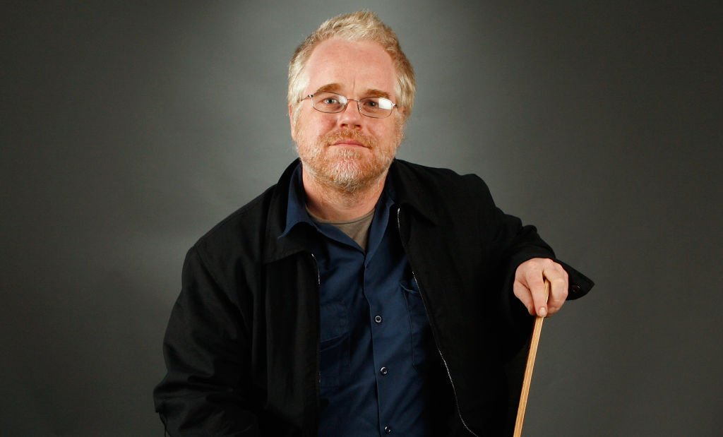 """Actor Philip Seymour Hoffman from the film """"The Savages"""" poses in the portrait studio during AFI FEST 2007 presented by Audi held at ArcLight Cinemas on November 9, 2007 in Hollywood, California. 