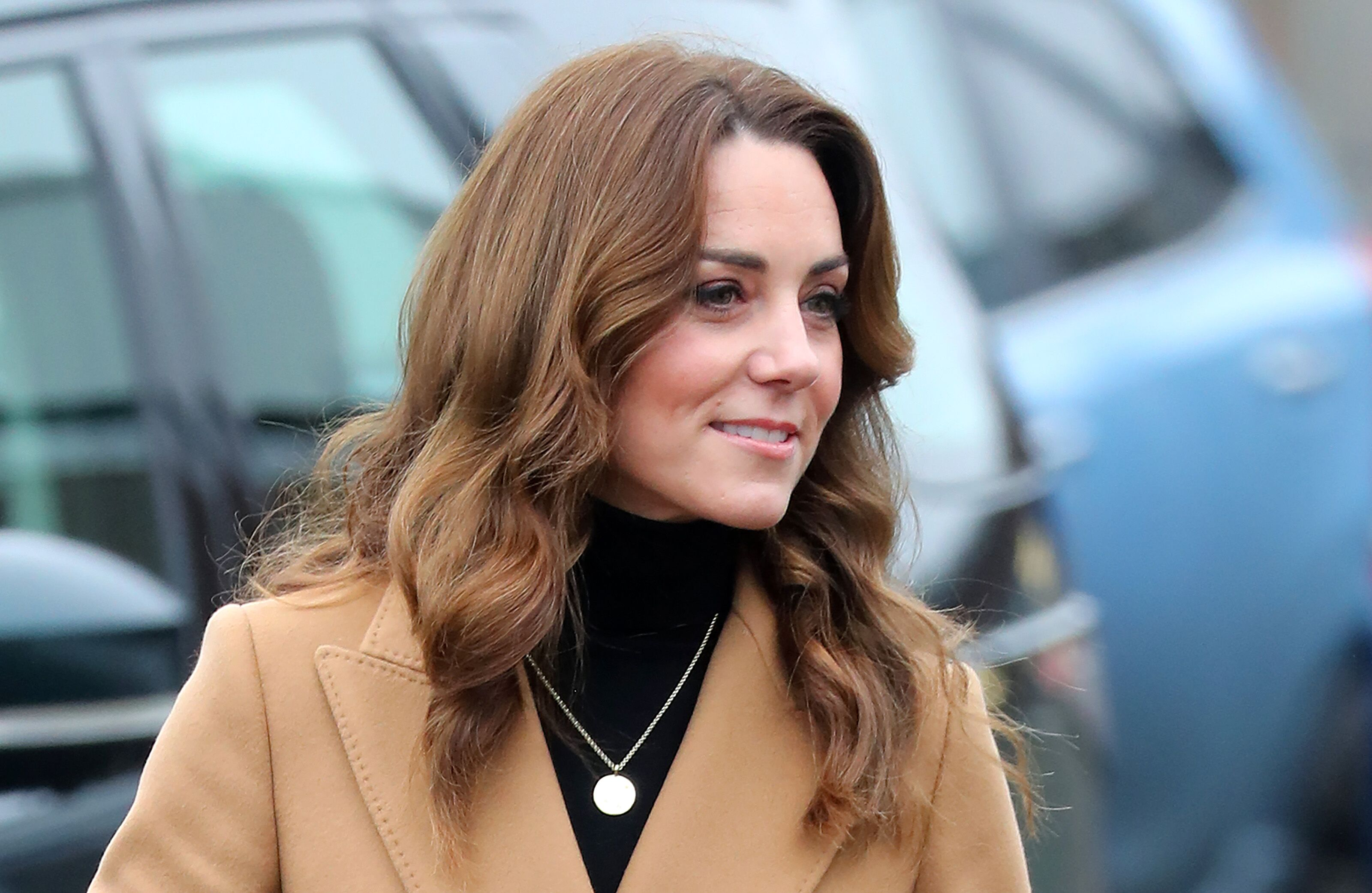Duchess Kate at Ely and Careau Children's Centre on January 22, 2020, in Cardiff, Wales | Photo: Chris Jackson/Getty Images
