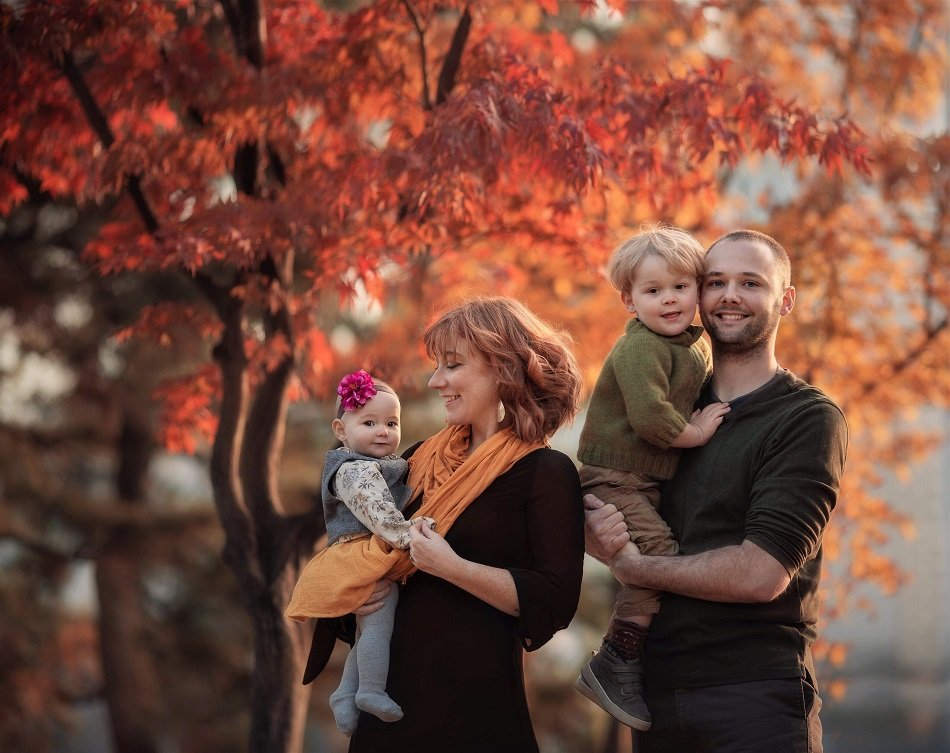 Amber Kneen and her family | Photo: Courtesy of Amber Kneen