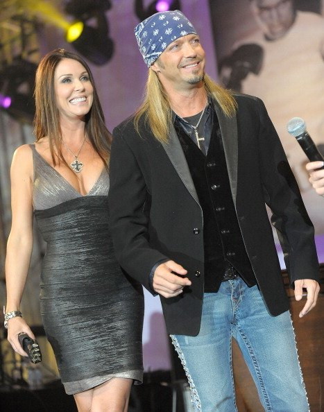 Kristi Gibson and Bret Michaels at JW Marriot Desert Ridge Resort & Spa on March 19, 2011 in Phoenix, Arizona. | Photo: Getty Images