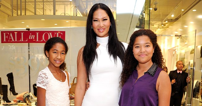 'Mogul Mom' Kimora Lee Simmons & Her 5 Kids Are All Smiles Celebrating Aoki's B-Day at The Sugar Factory