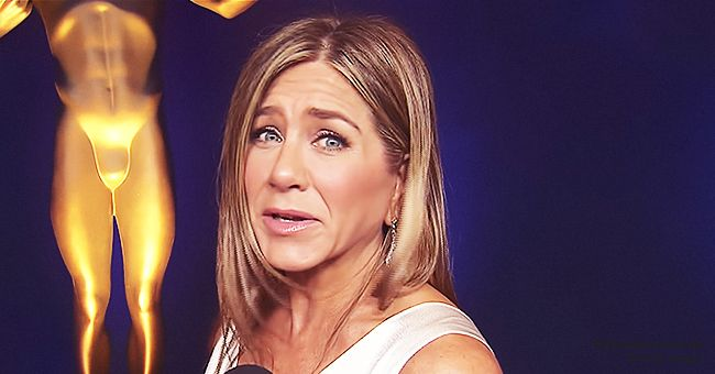 Jennifer Aniston Reportedly Said It Was Sweet That Brad Pitt Stopped to Watch Her SAG Awards Speech Backstage