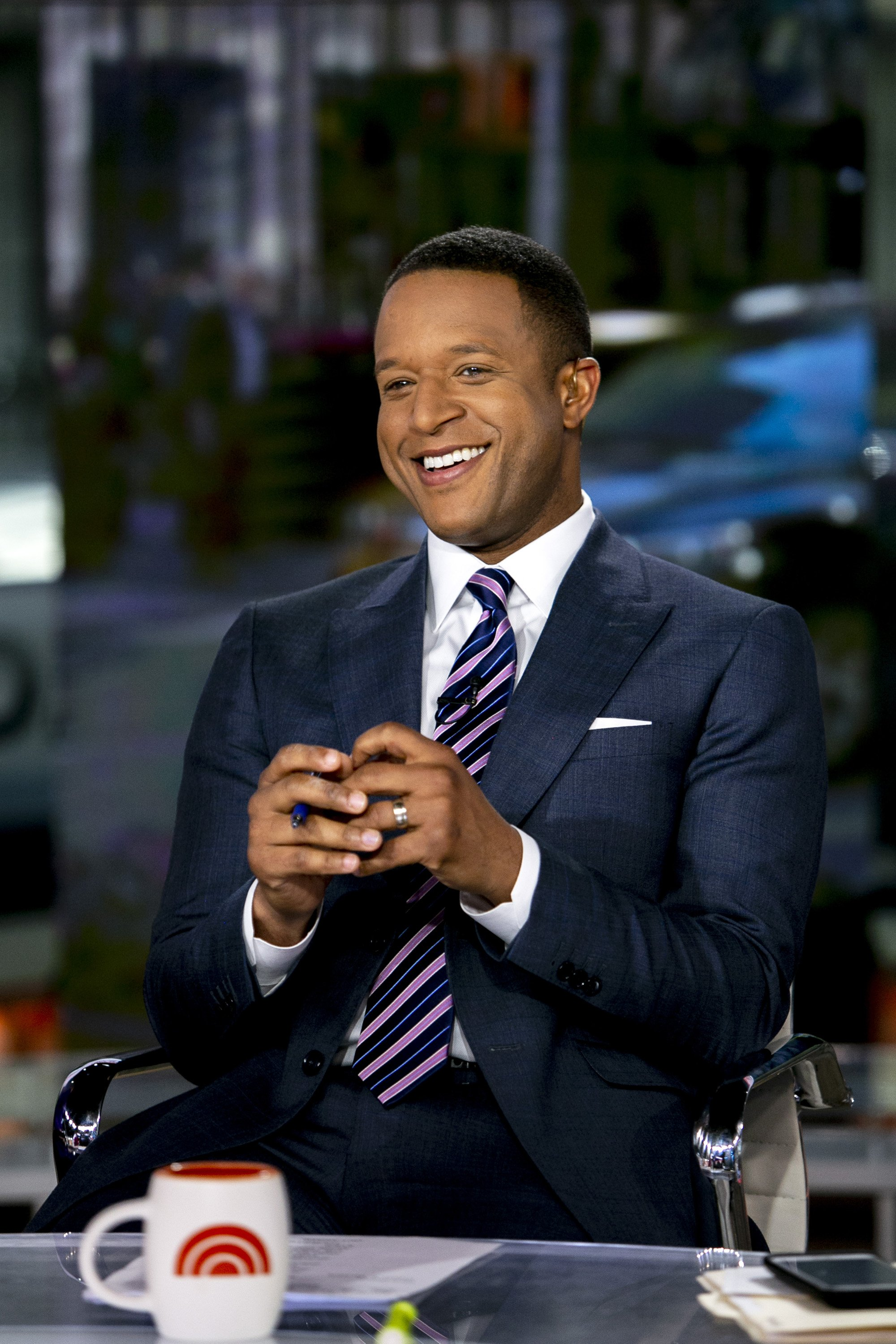"""Craig Melvin picture on the """"Today"""" show. 2019. 