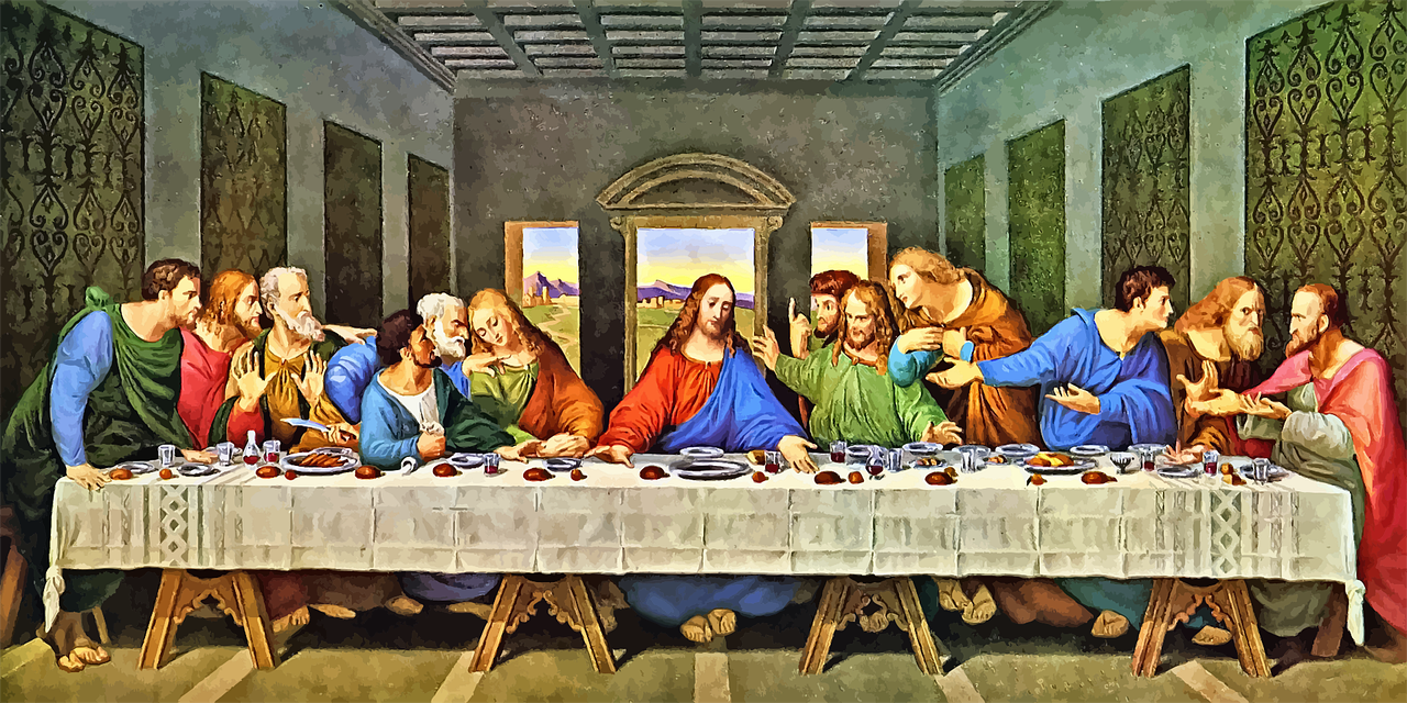 Is that really how the last supper ended?   Photo: Pixabay/Gordon Johnson
