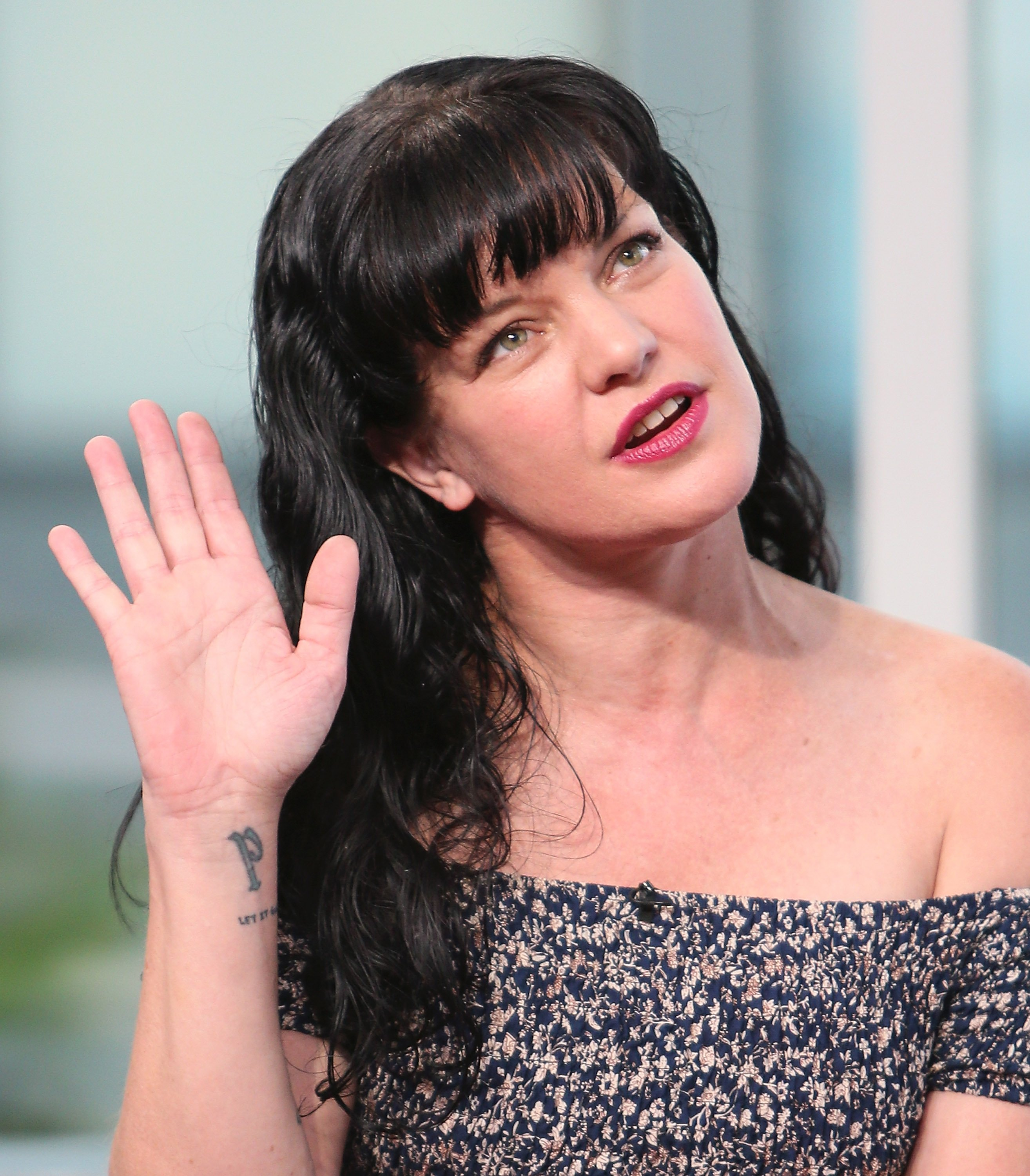 Pauley Perrette visits Hollywood Today Live at W Hollywood on September 16, 2016 | Photo: GettyImages