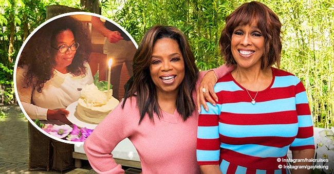 Oprah Winfrey celebrates 65th birthday aboard $300 million megayacht with best friend Gayle King