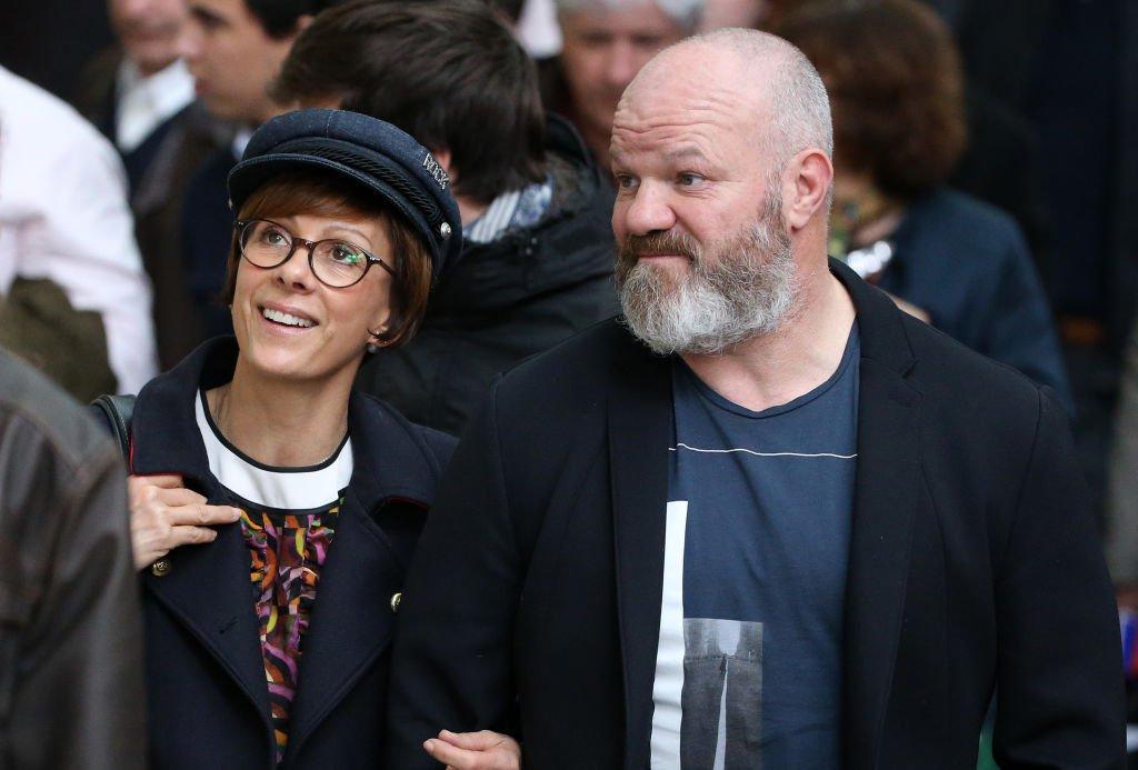 Philippe Etchebest et sa compagne Dominique. l Source : Getty Images
