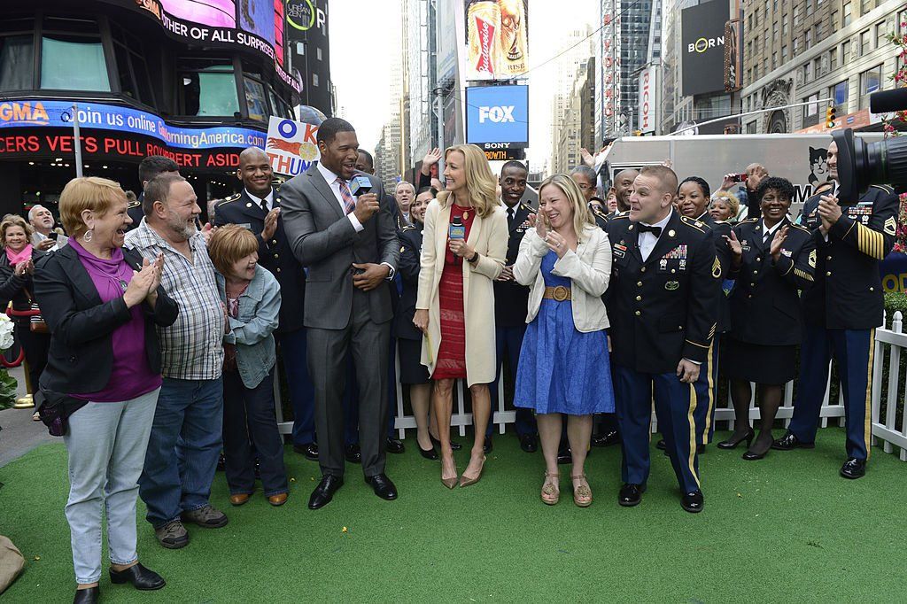 """Michael Strahan on """"Good Morning America"""" 2014
