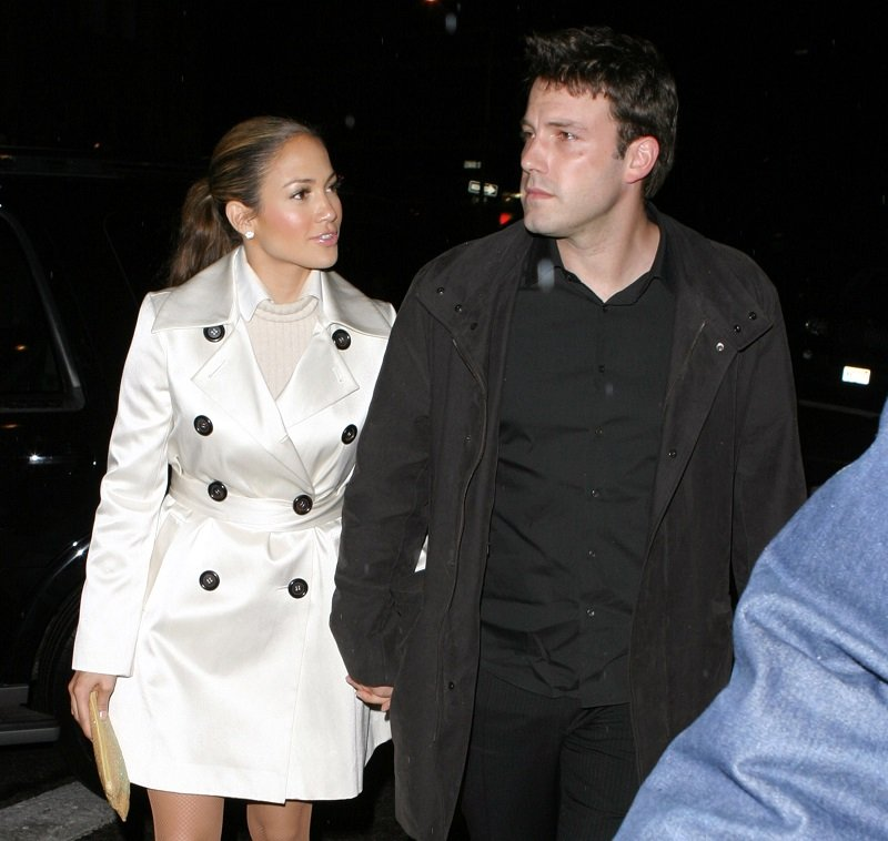 Jennifer Lopez and Ben Affleck in New York City in October 2003 | Photo: Getty Images