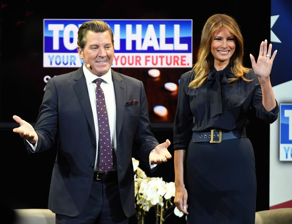 Melania Trump at a town hall in Las Vegas for her Be Best tour on February 5, 2019   Photo: Getty Images
