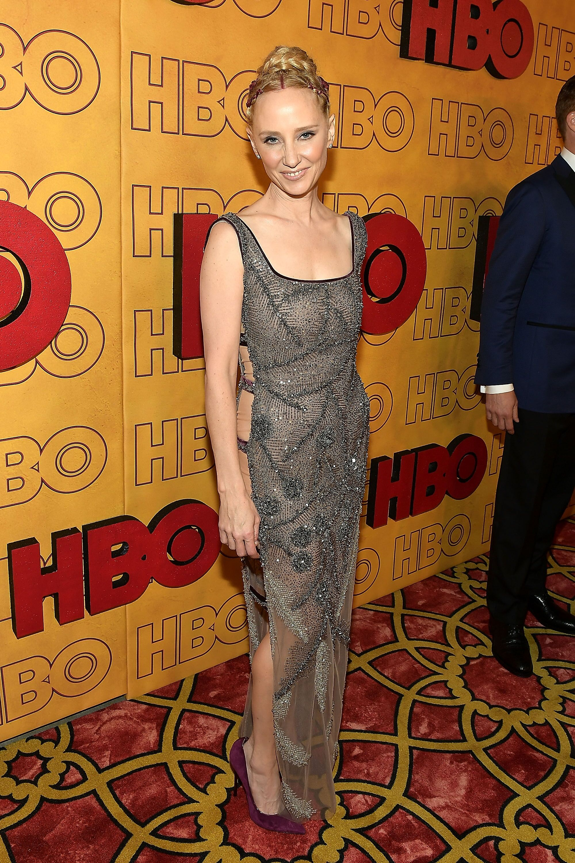 Anne Heche at HBO's Post Emmy Awards Reception in Los Angeles in 2017| Photo: Getty Images