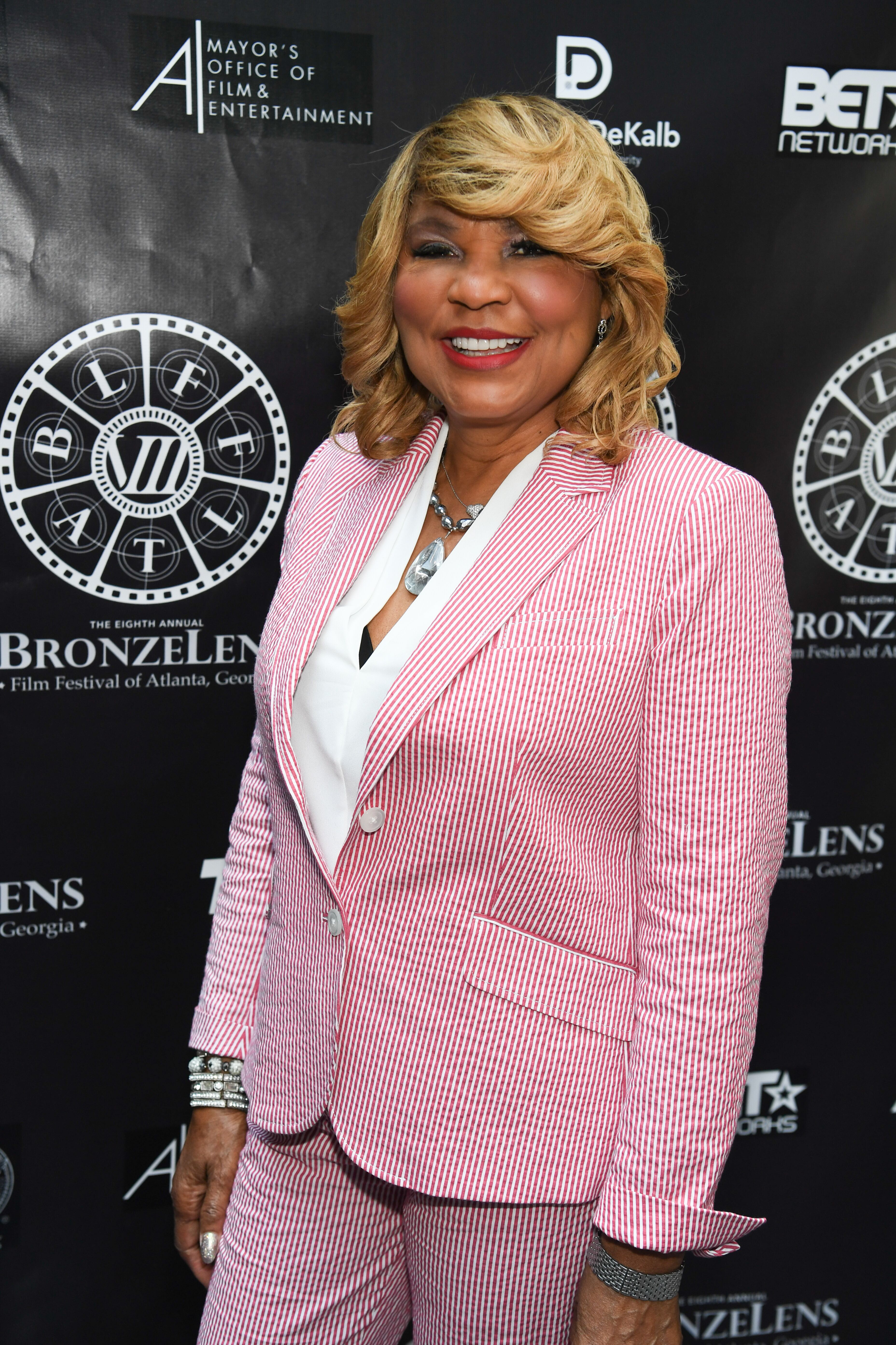 Evelyn Braxton at the 2017 BronzeLens Women SuperStars Luncheon in Atlanta Georgia/ Source: Getty Images