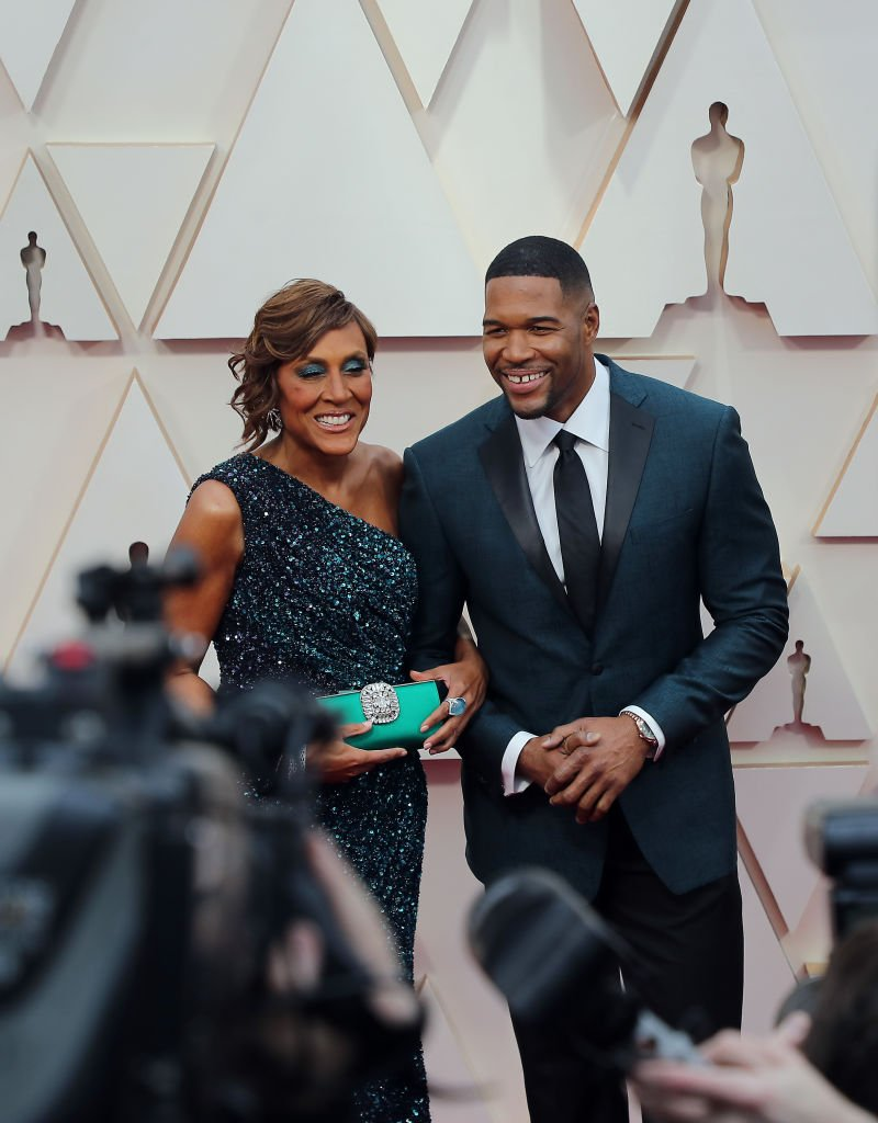 Robin Roberts and Michael Strahan attend the 92nd Annual Academy Awards at Hollywood and Highland on February 09, 2020 in Hollywood, California | Photo: Getty Images