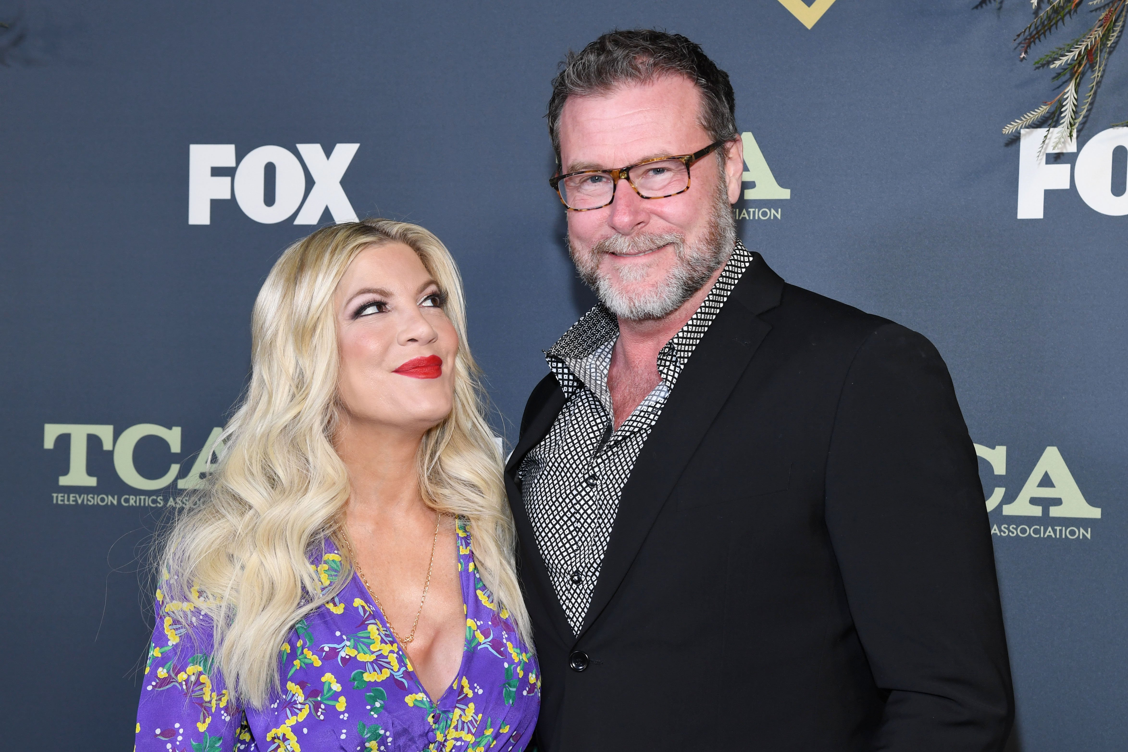 Tori Spelling and Dean McDermott attend Fox Winter TCA at The Fig House | Source: Getty Images