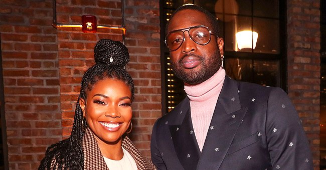 Gabrielle Union's Baby Girl Kaavia Has Soapy Beard in a Cute Photo
