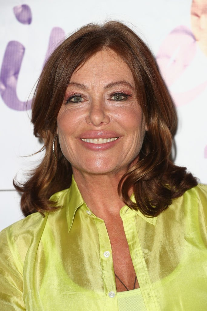"""Model-actress Kelly LeBrock attends a press conference hosted by Van Nuys-based nonprofit Safe Passage announcing """"Time2Heal,"""" an expansion of its support services for victims of domestic abuse, at Beverly Hills Women's Club   Photo: Getty Images"""