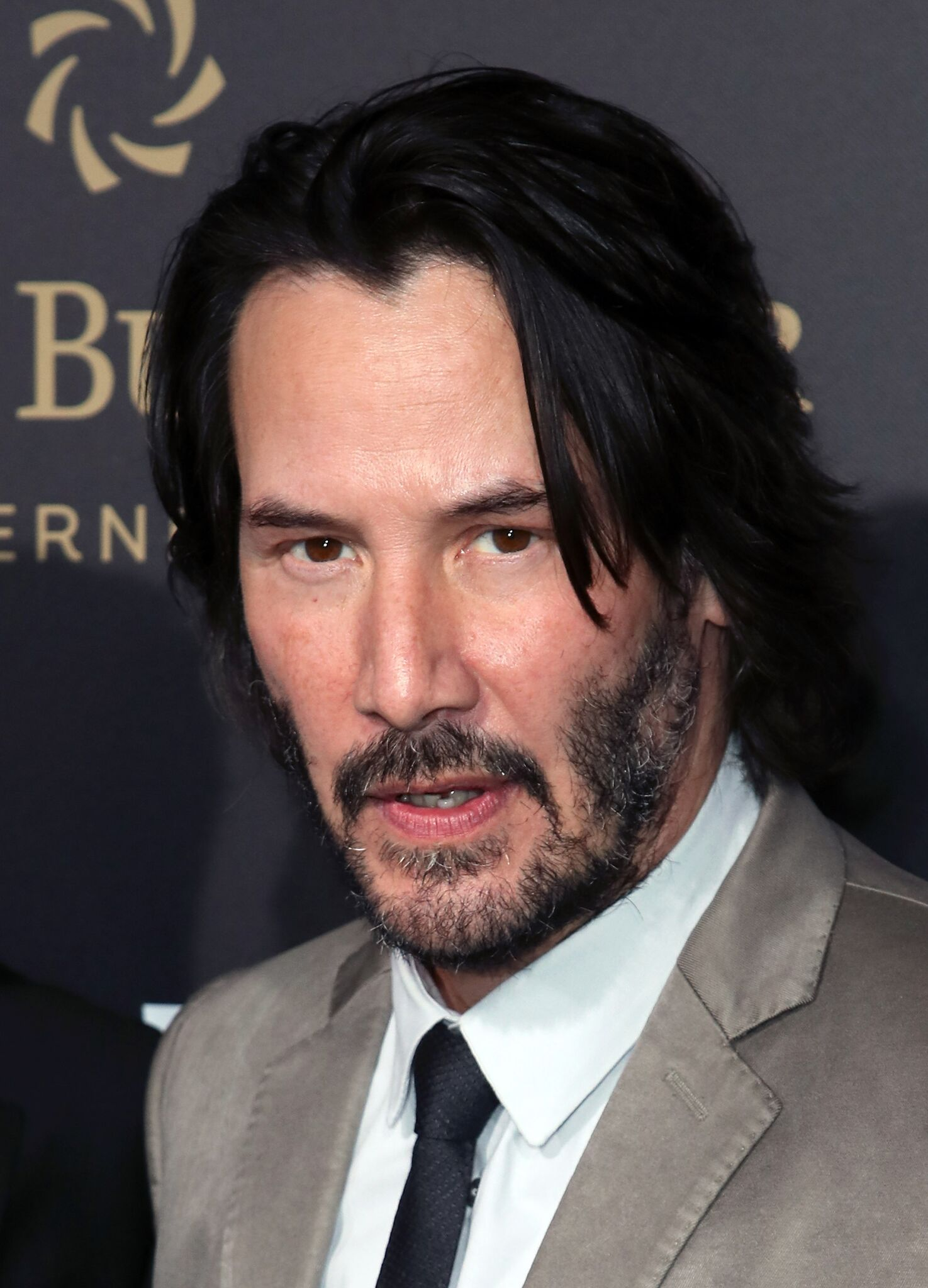 "L'acteur Keanu Reeves assiste au lancement de ""John Wick : Chapter Two"" de Summit Entertainment 