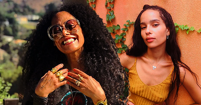 Cree Summer from 'A Different World' Posts Pic of Her Look-Alike Daughters with Zoë Kravitz